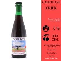 """Cette Kriek a été surnommée """"l'intégriste de la Kriek"""" car le brasseur se bat pour un retour aux traditions. Le goût de noyau de cerise est TRES prononcé et cela n'a pas plu (voir test)."""