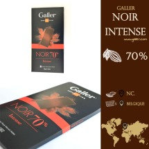 Galler : un chocolat made in belgium : Noir Intense