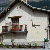 Les anciens outils agricoles décorent les maisons
