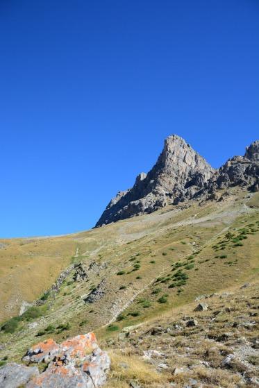 Paysage de montagne à Serre-Chevalier !