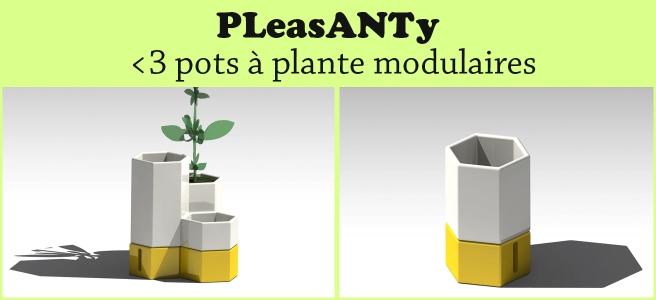 Pleasanty, le pot modulaire qui a de l'avenir devant lui !