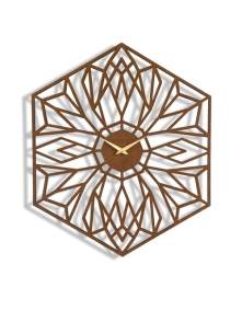 Superbes horloges découpée laser designées par Sarahmimo : www.sarahmimo.com